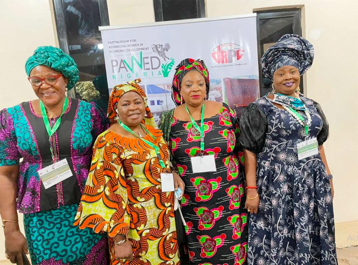 ANWBN Representatives at the dPRC Symposium on Women Economic Empowerment in Abuja